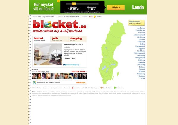 Blocket u2013överlägsen köp& säljmarknad i Sverige u2013 Indico